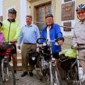 Návštěva zahraničních cyklistů