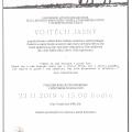 Zádušní mše za režiséra Vojtěcha Jasného proběhne v úterý 26. listopadu v 18. hodin v chrámu sv. Jana Křtitele a Panny Marie Karmelské v Bystrém